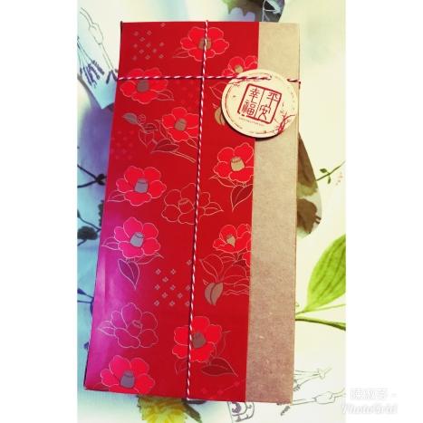 大紅椿花~平安幸福